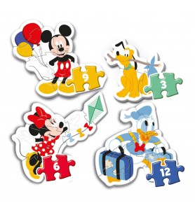 My first puzzles - Mickey